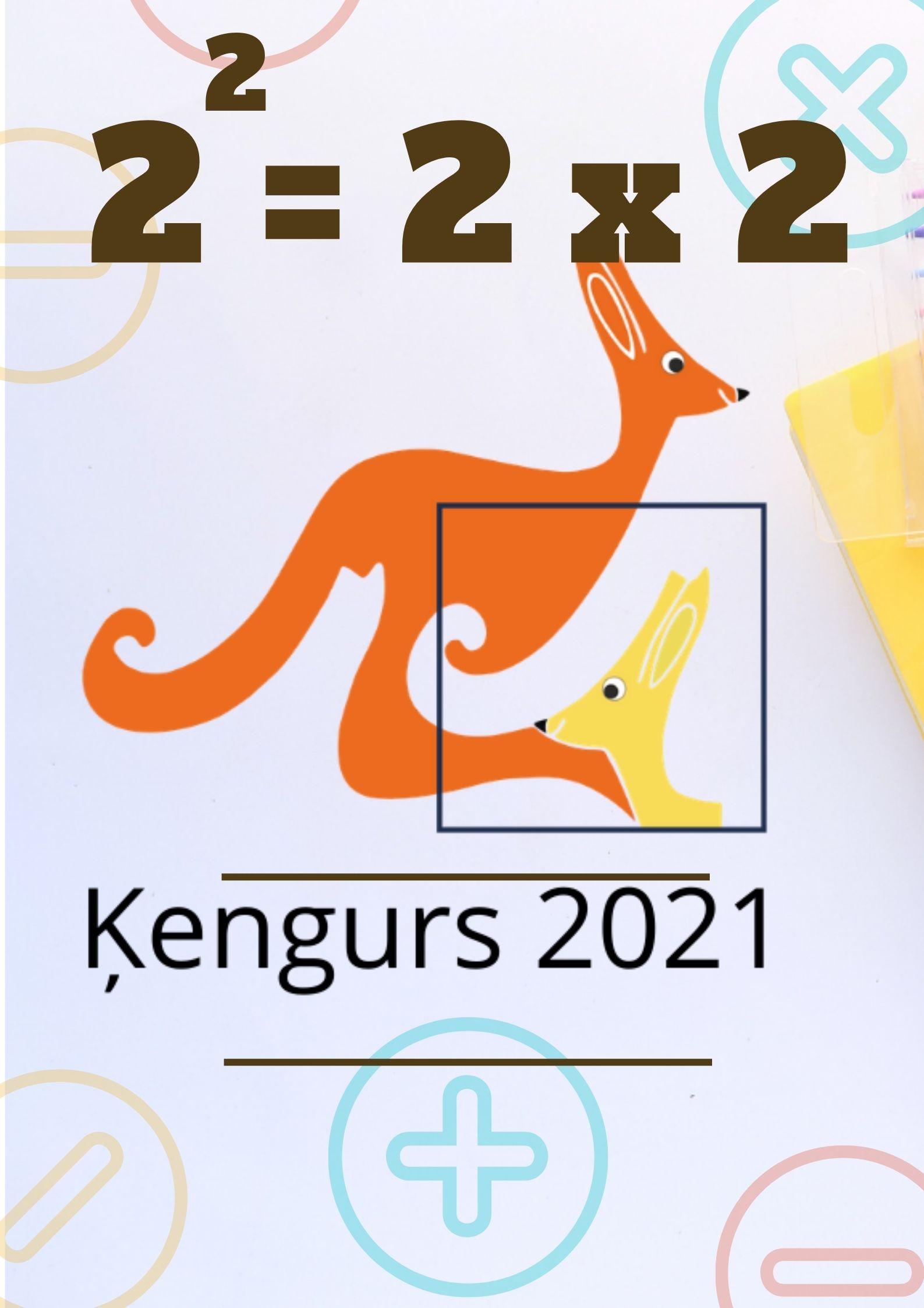 """Matemātikas konkurss """"Ķengurs"""" (direktores vietniece izglītības jomā I.Ubaga)"""